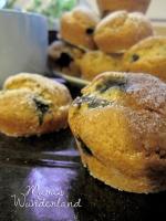 Donutmuffins mit Heidelbeeren 06