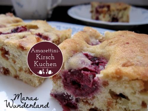 Amarettini-Kirsch-Kuchen Titel